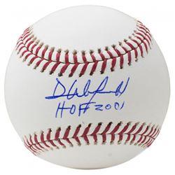 """Dave Winfield Signed OML Baseball Inscribed """"HOF 2001"""" (JSA COA)"""