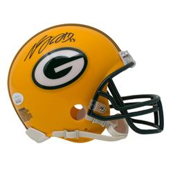 Davante Adams Signed Green Bay Packers Mini-Helmet (JSA COA)
