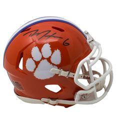 DeAndre Hopkins Signed Clemson Tigers Speed Mini-Helmet (JSA COA)