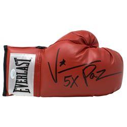 "Vinny Paz Signed Everlast Boxing Glove Inscribed ""5X""  ""2019"" (JSA COA)"