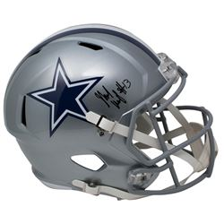 Michael Gallup Signed Dallas Cowboys Full-Size Speed Helmet (TriStar Hologram)
