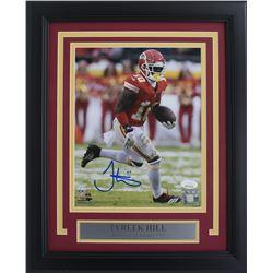 """Tyreek Hill Signed Kansas City Chiefs 11x14 Custom Framed Photo Display Inscribed """"HOF '80"""" (JSA COA"""