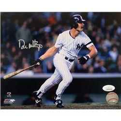 Don Mattingly Signed New York Yankees  8x10 Photo (JSA COA)