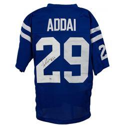 Joseph Addai Signed Indianapolis Colts Jersey (PSA Hologram)