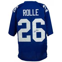 Antrel Rolle Signed New York Giants Jersey (JSA COA)