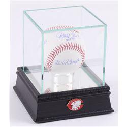 "Johnny Bench Signed OML Baseball Inscribed ""HOF 89"", ""10x Gold Glove"", 2x WS Champ""  ""14x All Star"""