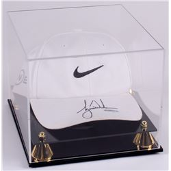 Tiger Woods Signed Nike Golf Hat with High-Quality Display Case (UDA COA)