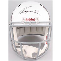 Trayveon Williams Signed Texas AM Aggies Full-Size Speed Helmet (TriStar Hologram)