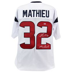 "Tyrann Mathieu Signed Houston Texans Jersey Inscribed ""Honey Badger"" (Beckett COA)"