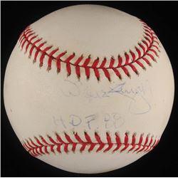 """Willie Stargell Signed ONL Baseball Inscribed """"HOF 88"""" (JSA COA)"""