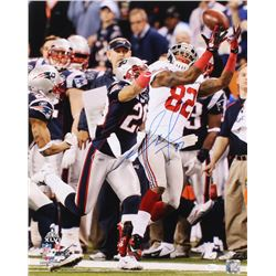 Mario Manningham Signed New York Giants 16x20 Photo (JSA COA)
