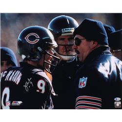 Jim McMahon Signed Chicago Bears 16x20 Photo (Beckett COA)