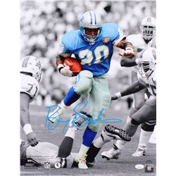 Barry Sanders Signed Detroit Lions 16x20 Photo (JSA COA  Schwartz Hologram)