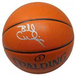 Billy Cunningham Signed Spalding NBA Basketball (JSA Hologram)