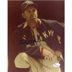 Burleigh Grimes Signed Dodgers 8x10 Photo (JSA Hologram)