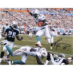Ricky Williams Signed Miami Dolphins 16x20 Photo (JSA COA)
