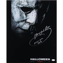 "James Jude Courtney Signed ""Halloween"" 16x20 Photo Inscribed ""Michael Myers 2018"" (JSA COA)"
