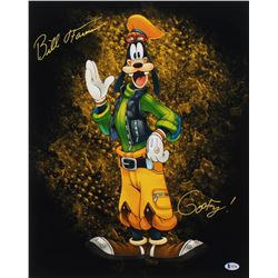 "Bill Farmer Signed 16x20 Photo Inscribed ""Goofy!"" (Beckett COA)"