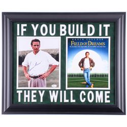 "Kevin Costner Signed ""Field of Dreams"" 19.5x23.5 Custom Framed Photo Display (JSA COA)"