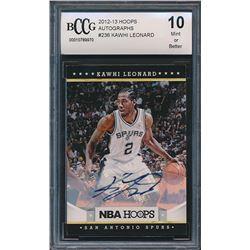 2012-13 Hoops #236 Kawhi Leonard RC (BCCG 10)