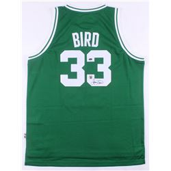 Larry Bird Signed Boston Celtics Jersey (Schwartz COA  Bird Hologram)