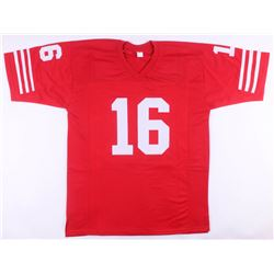 Joe Montana Signed San Francisco 49ers Jersey (JSA COA)