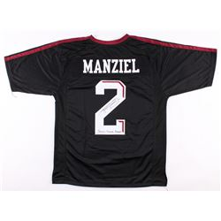 "Johnny Manziel Signed Texas AM Aggies Jersey Inscribed ""Johnny F*****g Football"" (JSA COA)"
