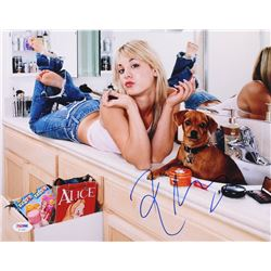 Kaley Cuoco Signed 11x14 Photo (PSA COA)