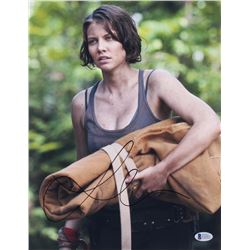 "Lauren Cohan Signed ""The Walking Dead"" 11x14 Photo (Beckett COA)"
