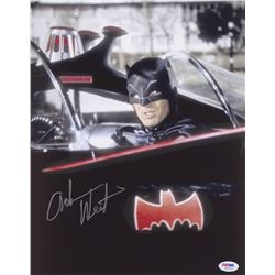 "Adam West Signed ""Batman"" 11x14 Photo (PSA Hologram)"
