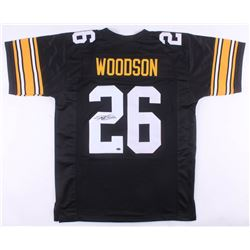 Rod Woodson Signed Pittsburgh Steelers Jersey (Schwartz COA)