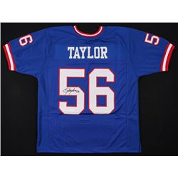 Lawrence Taylor Signed New York Giants Jersey (JSA COA)