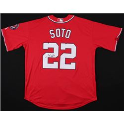 Juan Soto Signed Washington Nationals Jersey (JSA COA)