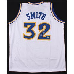 Joe Smith Signed Golden State Warriors Jersey (Fiterman Sports Hologram)