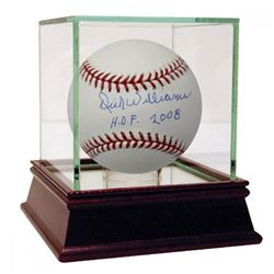 "Dick Williams Signed OML Baseball Inscribed ""HOF 2008"" with High Quality Display Case (PSA Hologram)"