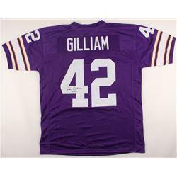 John Gilliam Signed Minnesota Vikings Jersey (JSA COA)