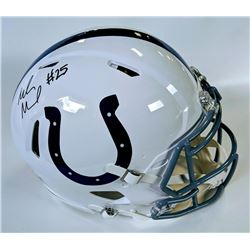 Marlon Mack Signed Indianapolis Colts Full-Size Authentic On-Field Speed Helmet (JSA COA)
