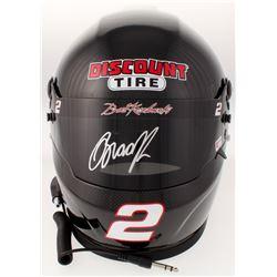 Brad Keselowski Signed 2018 NASCAR Discount Tire Full-Size Helmet (PA COA)
