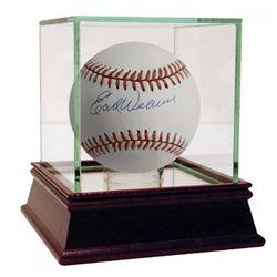 Earl Weaver Signed OAL Baseball with High Quality Display Case (JSA Hologram)