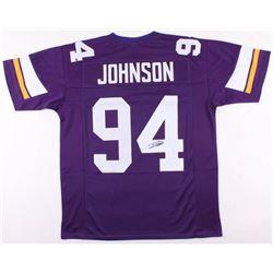 Jaleel Johnson Signed Minnesota Vikings Jersey (JSA COA)