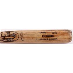 Rey Quinones Boston Red Sox Game Used Louisville Slugger Baseball Bat (YSMS COA)