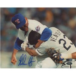 Nolan Ryan Signed Texas Rangers 8x10 Photo (AI Verified Hologram  Ryan Hologram)