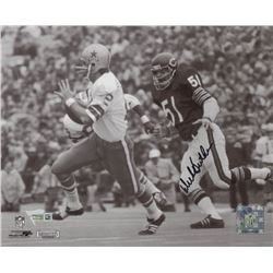 Dick Butkus Signed Chicago Bears 8x10 Photo (Fanatics Hologram)