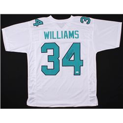 Ricky Williams Signed Miami Dolphins Jersey (JSA Hologram)