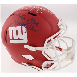 Lawrence Taylor Signed New York Giants Full-Size Custom Speed Helmet (JSA COA)