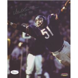 "Dick Butkus Signed Chicago Bears 8x10 Photo Inscribed ""HOF 79"" (JSA COA)"