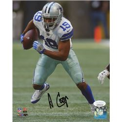 Amari Cooper Signed Dallas Cowboys 8x10 Photo (JSA COA)