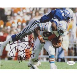 "Kenny Easley Signed Seattle Seahawks 8x10 Photo Inscribed ""HOF '17"" (JSA COA)"