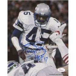 "Kenny Easley Signed Seattle Seahawks 8x10 Photo Inscribed ""HOF '17"" (JSA Hologram)"