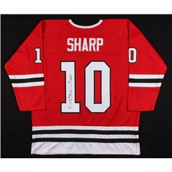 Patrick Sharp Signed Chicago Blackhawks Jersey (Beckett COA)